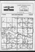 Map Image 055, Otter Tail County 1989