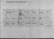 Index Map, Pennington County 1989
