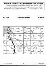 Map Image 022, Pennington County 1991 Published by Farm and Home Publishers, LTD