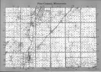 Index Map, Pine County 1991