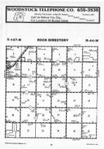 Map Image 008, Pipestone County 1987