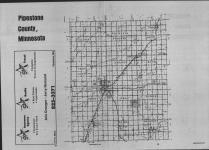 Index Map, Pipestone County 1989 Published by Farm and Home Publishers, LTD