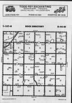 Map Image 006, Pipestone County 1989 Published by Farm and Home Publishers, LTD