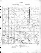 Badger Township, Cisco, Poplar River, Polk County 1964