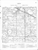 Knute Township, Lake Sarah, Bakke Lake, Erskine, Oak Lake, Polk County 1964