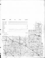 Polk County Highway Map 2, Polk County 1964