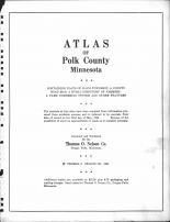 Title Page, Polk County 1964