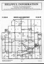 Glenwood, Grove Lake T125N-R36W, Pope County 1989
