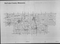 Index Map, Red Lake County 1989