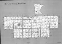 Index Map, Red Lake County 1990