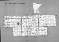 Index Map, Red Lake County 1991