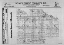 Index Map, Redwood County 1988