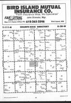 Map Image 023, Redwood County 1991 Published by Farm and Home Publishers, LTD