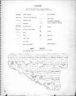 Index Map, Legend, Renville County 1947
