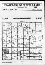 Preston Lake T115N-R31W, Renville County 1990