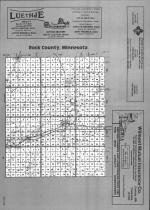 Index Map, Rock County 1991