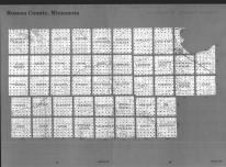 Index Map, Roseau County 1989