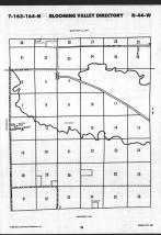Map Image 021, Roseau County 1989