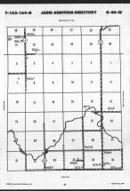 Map Image 077, Roseau County 1989