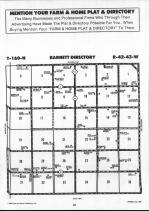 Map Image 009, Roseau County 1990