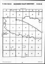 Map Image 021, Roseau County 1990