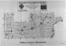 Index Map, Sibley County 1988