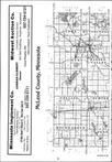 Mcleod County Index Map 1, Sibley and McLeod Counties 1984