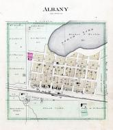 Albany, North Lake, Stearns County 1896 published by C.M. Foote & Co