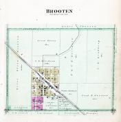 Brooten, Stearns County 1896 published by C.M. Foote & Co