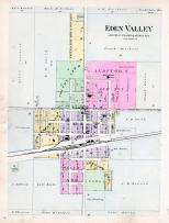 Eden Valley, Stearns County 1896 published by C.M. Foote & Co