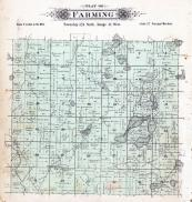 Farming Township, Big Rice Lake, Sand Lake, Mud Lake, Stearns County 1896 published by C.M. Foote & Co