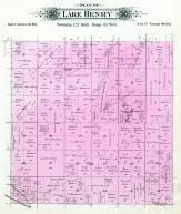 Lake Henry Township, Stearns County 1896 published by C.M. Foote & Co