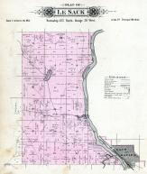 LeSauk Township, Watub River, Stearns County 1896 published by C.M. Foote & Co