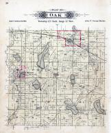 Oak Township, New Munich, Freeport, Uhlenkotts Lake, Stearns County 1896 published by C.M. Foote & Co