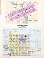 Rockville, Richmond, Torah P.O., Stearns County 1896 published by C.M. Foote & Co