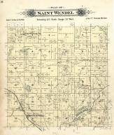 Saint Wendel Township, Collegeville, Stearns County 1896 published by C.M. Foote & Co