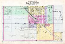 Sauk Centre City - South, Stearns County 1896 published by C.M. Foote & Co