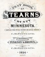Title Page, Stearns County 1896 published by C.M. Foote & Co