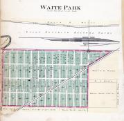 Waite Park, Stearns County 1896 published by C.M. Foote & Co