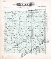 Zion Township, Roscoe, Lions P.O., Saint Martin, Stearns County 1896 published by C.M. Foote & Co