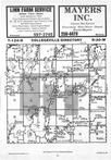 Map Image 012, Stearns County 1985 Published by Farm and Home Publishers, LTD