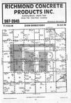 Map Image 080, Stearns County 1985 Published by Farm and Home Publishers, LTD