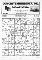 Camp Lake T122N-R38W, Swift County 1988