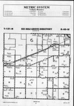 Six Mile Grove T121N-R40W, Swift County 1990