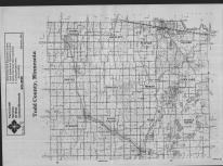 Index Map, Todd County 1989