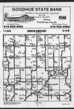 Map Image 016, Wabasha County 1989 Published by Farm and Home Publishers, LTD