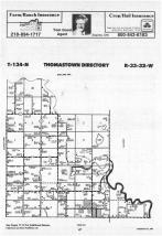 Map Image 007, Wadena County 1988