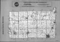 Index Map, Wadena County 1990 Published By Farm and Home Publishers, LTD