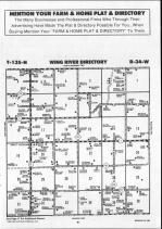 Wing River T135N-R34W, Wadena County 1990 Published By Farm and Home Publishers, LTD