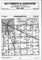 Wadena T134N-R35W, Wadena County 1990 Published By Farm and Home Publishers, LTD